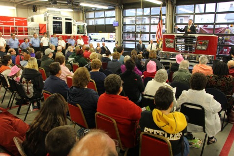 Dedication of New Fire Station, Pumper Truck, Boat, Lehighton Fire Department, Lehighton (52)