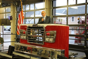 Dedication of New Fire Station, Pumper Truck, Boat, Lehighton Fire Department, Lehighton (60)