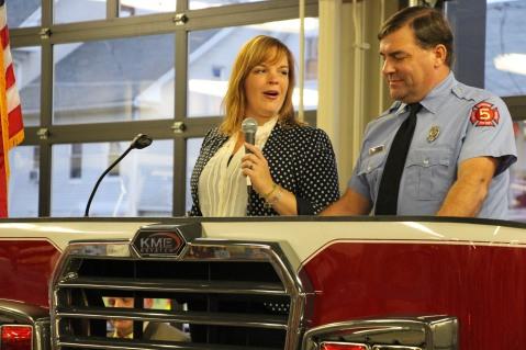 Dedication of New Fire Station, Pumper Truck, Boat, Lehighton Fire Department, Lehighton (65)