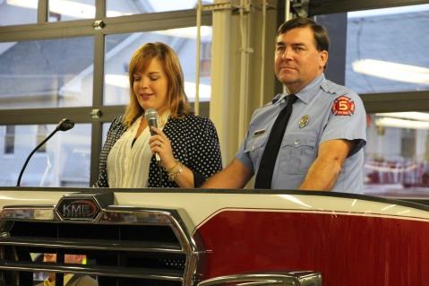 Dedication of New Fire Station, Pumper Truck, Boat, Lehighton Fire Department, Lehighton (66)