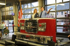 Dedication of New Fire Station, Pumper Truck, Boat, Lehighton Fire Department, Lehighton (71)