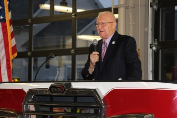 Dedication of New Fire Station, Pumper Truck, Boat, Lehighton Fire Department, Lehighton (77)