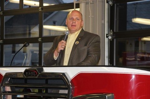 Dedication of New Fire Station, Pumper Truck, Boat, Lehighton Fire Department, Lehighton (80)