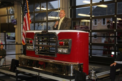 Dedication of New Fire Station, Pumper Truck, Boat, Lehighton Fire Department, Lehighton (82)