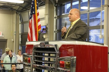 Dedication of New Fire Station, Pumper Truck, Boat, Lehighton Fire Department, Lehighton (93)
