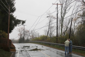 Downed Power Lines, Power Outage, Valley Street, Brockton, 10-28-2015 (42)