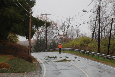 Downed Power Lines, Power Outage, Valley Street, Brockton, 10-28-2015 (52)
