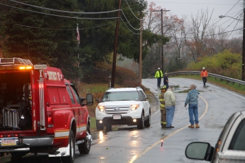 Downed Power Lines, Power Outage, Valley Street, Brockton, 10-28-2015 (60)