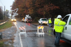Downed Power Lines, PPL Repairs, Power Outage, Valley Street, Brockton, 10-28-2015 (10)