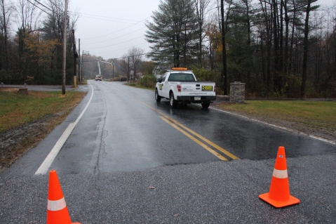 Downed Power Lines, PPL Repairs, Power Outage, Valley Street, Brockton, 10-28-2015 (19)