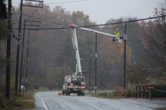Downed Power Lines, PPL Repairs, Power Outage, Valley Street, Brockton, 10-28-2015 (22)