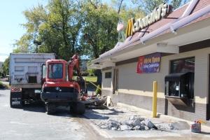 Drive Thru Construction, McDonalds, Hometown, 10-19-2015 (11)
