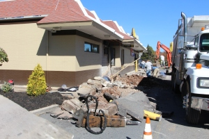 Drive Thru Construction, McDonalds, Hometown, 10-19-2015 (3)