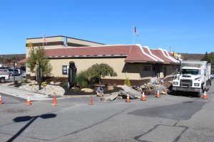 Drive Thru Construction, McDonalds, Hometown, 10-19-2015 (7)