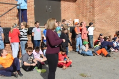 Egg Drop Challenge, 5th Grade, West Penn Elementary School, Tamaqua, 10-30-2015 (2)