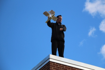 Egg Drop Challenge, 5th Grade, West Penn Elementary School, Tamaqua, 10-30-2015 (29)