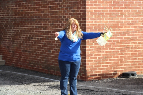Egg Drop Challenge, 5th Grade, West Penn Elementary School, Tamaqua, 10-30-2015 (42)