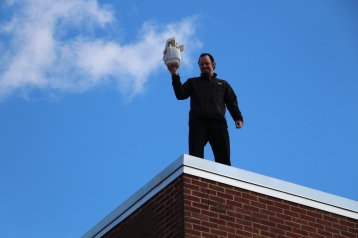 Egg Drop Challenge, 5th Grade, West Penn Elementary School, Tamaqua, 10-30-2015 (45)