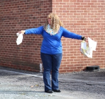 Egg Drop Challenge, 5th Grade, West Penn Elementary School, Tamaqua, 10-30-2015 (51)