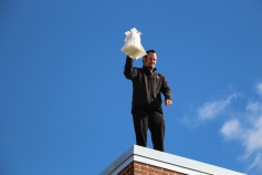 Egg Drop Challenge, 5th Grade, West Penn Elementary School, Tamaqua, 10-30-2015 (59)