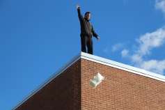 Egg Drop Challenge, 5th Grade, West Penn Elementary School, Tamaqua, 10-30-2015 (60)
