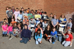 Egg Drop Challenge, 5th Grade, West Penn Elementary School, Tamaqua, 10-30-2015 (93)