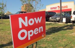 Family Dollar Opens, Tamaqua, 9-17-2015 (1)