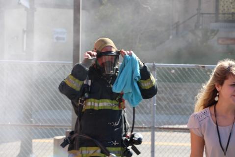 Fire Prevention Program, via Tamaqua Fire Dept, St Jerome School, Tamaqua, 10-6-2015 (24)