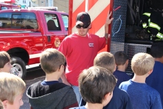 Fire Prevention Program, via Tamaqua Fire Dept, St Jerome School, Tamaqua, 10-6-2015 (36)