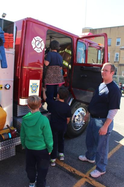 Fire Prevention Program, via Tamaqua Fire Dept, St Jerome School, Tamaqua, 10-6-2015 (40)