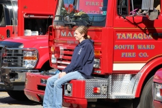 Fire Prevention Program, via Tamaqua Fire Dept, St Jerome School, Tamaqua, 10-6-2015 (52)