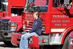 Fire Prevention Program, via Tamaqua Fire Dept, St Jerome School, Tamaqua, 10-6-2015 (52)