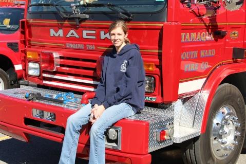 Fire Prevention Program, via Tamaqua Fire Dept, St Jerome School, Tamaqua, 10-6-2015 (54)