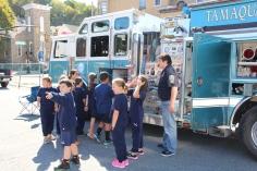 Fire Prevention Program, via Tamaqua Fire Dept, St Jerome School, Tamaqua, 10-6-2015 (57)