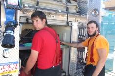 Fire Prevention Program, via Tamaqua Fire Dept, St Jerome School, Tamaqua, 10-6-2015 (58)