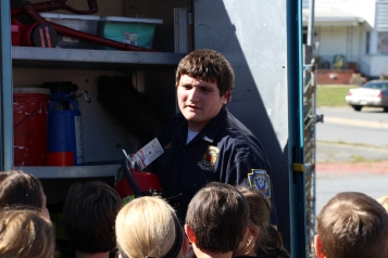 Fire Prevention Program, via Tamaqua Fire Dept, St Jerome School, Tamaqua, 10-6-2015 (65)