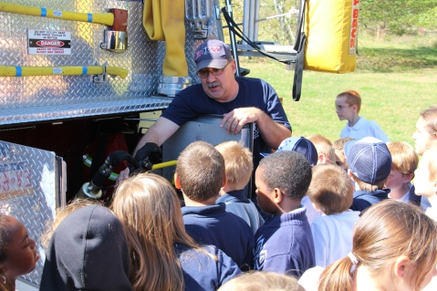 Fire Prevention, via Tamaqua Fire Department, Tamaqua Elementary School, Tamaqua, 10-5-2015 (106)