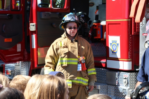 Fire Prevention, via Tamaqua Fire Department, Tamaqua Elementary School, Tamaqua, 10-5-2015 (60)