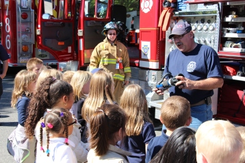 Fire Prevention, via Tamaqua Fire Department, Tamaqua Elementary School, Tamaqua, 10-5-2015 (61)
