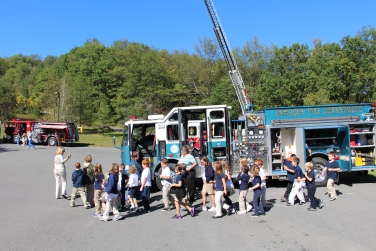 Fire Prevention, via Tamaqua Fire Department, Tamaqua Elementary School, Tamaqua, 10-5-2015 (84)