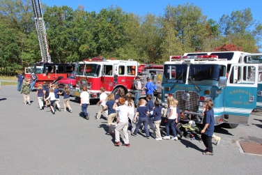 Fire Prevention, via Tamaqua Fire Department, Tamaqua Elementary School, Tamaqua, 10-5-2015 (85)