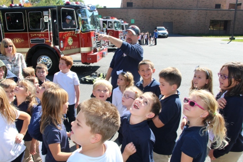 Fire Prevention, via Tamaqua Fire Department, Tamaqua Elementary School, Tamaqua, 10-5-2015 (93)