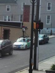 Google Car, from Frankie, Frank Latham, Hunter Street, Tamaqua, 9-12-2015 (2)