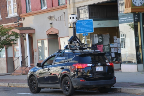 Google, Uber Vehicles Drive In and Around Tamaqua, 10-6-2015 (1)