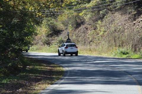 Google, Uber Vehicles Drive In and Around Tamaqua, 10-6-2015 (17)