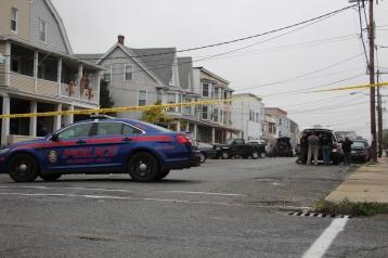 Heavy Police Activity, 300 Block of East Bertsch Street, Lansford, 10-13-2015 (20)