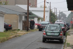 Heavy Police Activity, 300 Block of East Bertsch Street, Lansford, 10-13-2015 (27)