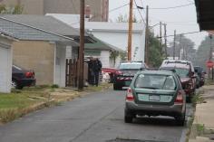 Heavy Police Activity, 300 Block of East Bertsch Street, Lansford, 10-13-2015 (27)