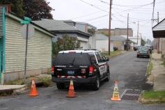 Heavy Police Activity, 300 Block of East Bertsch Street, Lansford, 10-13-2015 (29)