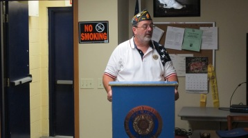 Installation of Officers, Coaldale American Legion, Coaldale, 9-12-2015 (1)